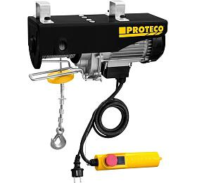 Naviják lanový elektrický 250/500kg PROTECO - PROTECO