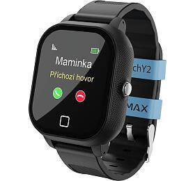 Chytré hodinky Lamax WatchY2, Black - Lamax