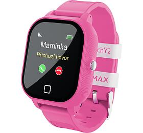 Chytré hodinky Lamax WatchY2, Pink - Lamax