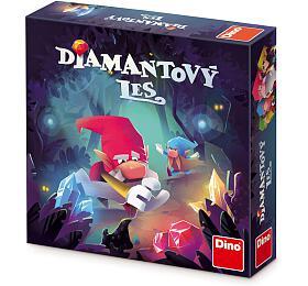 Diamantový les společenská hra v krabici 24x24x6cm - Dino hračky