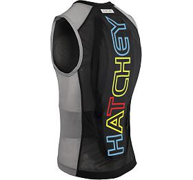 Hatchey Vest Air Fit Junior black/grey/color, XS - Hatchey