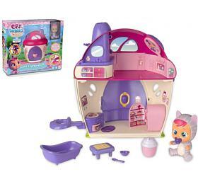 CRY BABIES Magické slzy plast panenka s domečkem a doplňky v krabici 38x33x13,5cm - Teddies