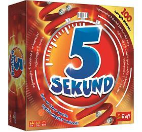 5 Sekund nová grafika společenská hra v krabici 26x26x8cm CZ verze - TREFL