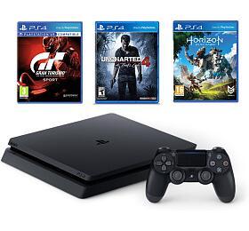 PS4 1TB slim+GTS+U4+HZD Sony - Sony