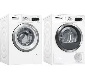 SET Pračka Bosch WAW28590BY + Sušička Bosch WTW855H0BY - Bosch