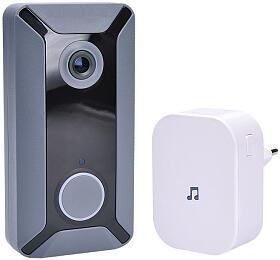 Solight Wi-Fi bezdrátový zvonek s kamerou - Solight