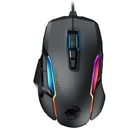 ROCCAT Kone AIMO - remastered, herní myš, 16000 DPI , RGB, černá (ROC-11-820-BK) - Roccat