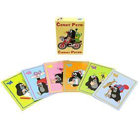 Černý Petr Krtek společenská hra - karty v krabičce 6x9cm - Teddies