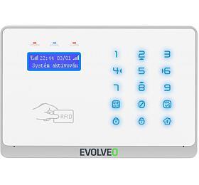 EVOLVEO Salvarix, bezdrátový WiFi&GSM alarm s čtečkou RFID (ALM303) - EVOLVEO