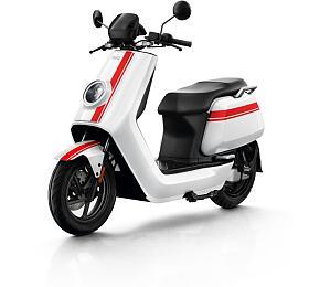 Elektrický skútr NIU NGT White with Red Stripes - NIU