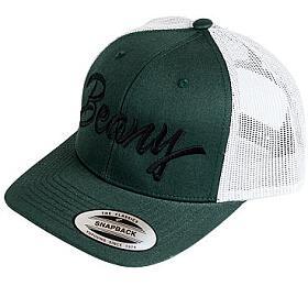 Kšiltovka Beany Trucker Green - Beany