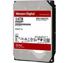 WD RED NAS WD140EFFX 14TB SATAIII/600 512MB cache, 210MB/s - Western Digital
