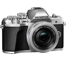 Digitální fotoaparát Olympus E-M10 Mark III 1442 kit silver/silver - Olympus