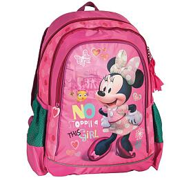 Batoh Školní batoh tříkomorový Minnie - OEM