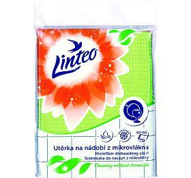 Utěrka Linteo na nádobí z mikrovlákna, 40x60cm, 1ks - Linteo