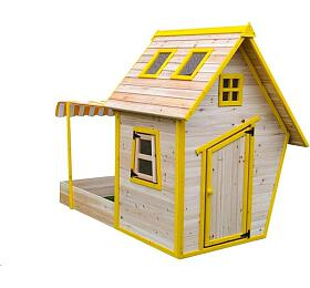 Marimex domeček dětský dřevěný s pískovištěm Flinky (11640353) - Marimex