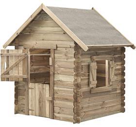 Marimex domeček dětský dřevěný Western (11640354) - Marimex