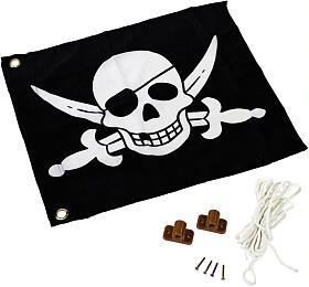 Marimex Play Vlajka pirát (11640304) - Marimex