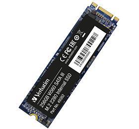 VERBATIM SSD Vi560 S3 M.2 256GB SATA III, W 560/ R 520MB/s (49362) - Verbatim