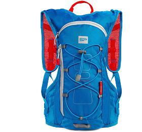 Spokey FUJI Sportovní, cyklistický a běžecký batoh 5 l modrý - Spokey