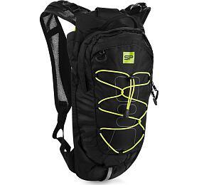 Spokey DEW Sportovní, cyklistický a běžecký batoh 15 l, černo-žlutý - Spokey