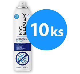 SET 10 ks antibakteriálních sprejů MC ELIXIER, 70% alc. - MC ELIXIER