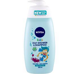 Sprchový gel Nivea Kids, 500 ml (Magic Apple Scent) - Nivea