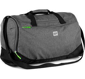 Spokey PIRX Sportovní taška šedá 35 l - Spokey