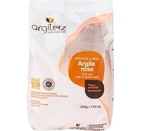 Jíl růžový ultra ventilovaný Argiletz maska & koupel (citlivá pleť) 200 g - Argiletz