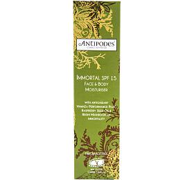 Krém na tělo & obličej hydratační IMMORTAL SPF 15 60 ml ANTIPODES - Antipodes