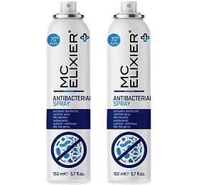 SET 2ks dezinfekční antibakteriální sprej MC ELIXIER 150ml - MC ELIXIER
