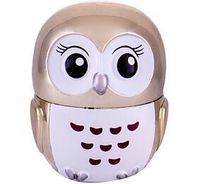 Balzám na rty 2K Lovely Owl, 3 ml, odstín Vanilla Glow - 2K