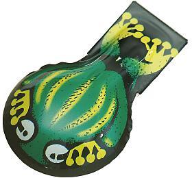 Cvakačka žába kov 6cm v sáčku - Kovap