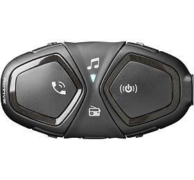 Bluetooth handsfree pro uzavřené a otevřené přilby CellularLine Interphone ACTIVE, Single Pack - Interphone