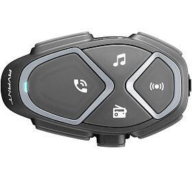 Bluetooth handsfree pro uzavřené a otevřené přilby CellularLine Interphone AVANT, Single Pack - Interphone