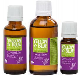 Yellow&Blue Levandulová silice (10 ml) - přírodní éterický olej - Yellow&Blue (Tierra Verde)