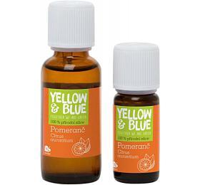 Yellow&Blue Pomerančová silice (30 ml) - přírodní éterický olej - Yellow&Blue (Tierra Verde)