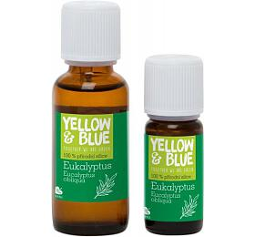 Yellow&Blue Eukalyptová silice (10 ml) - přírodní éterický olej - Yellow&Blue (Tierra Verde)