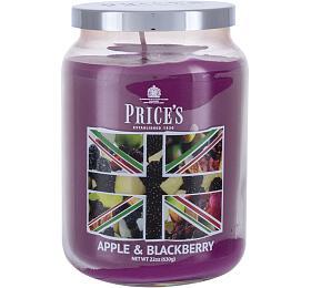 Vonná svíčka Price´s Candles Apple & Blackberry, 630 ml - Price´s Candles