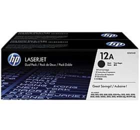 Toner HP Q2612AD, 2K stran originální - černý - Hewlett Packard