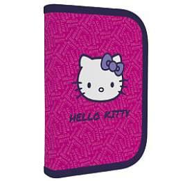 Penál školní P + P Karton jednopatrový naplněný Hello Kitty - P + P Karton