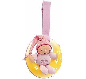 Skřítek CHICCO měsíček hrající růžový - Chicco