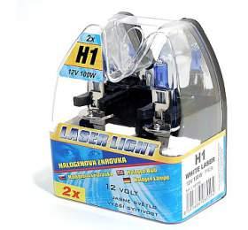 Autožárovka Compass 12 V H1 100W WHITE LASER 2 ks - Compass