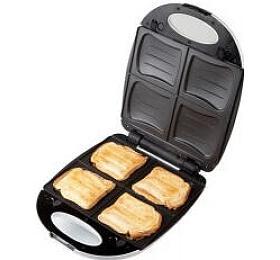 Sendvičovač 2v1 na 4 sendviče / vafle - DOMO DO9046C - Domo