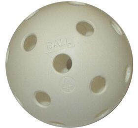 ACRA Florbalový míček necertifikovaný bílý - Acra