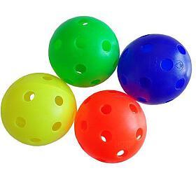 ACRA Florbalový míček necertifikovaný barevný - Acra