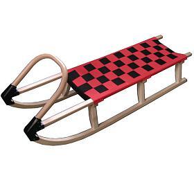Acra sáně 125cm dřevěné A2042 - červené - Acra
