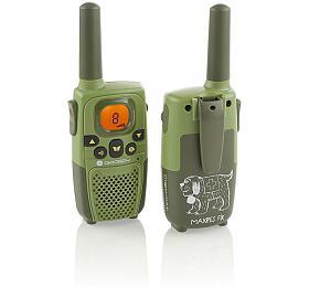 Vysílačky GoGEN MAXI VYSILACKY, tmavě zelená barva - GoGEN