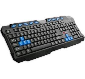 Klávesnice C-Tech GMK-102-B, CZ/SK - černá/modrá - C-Tech