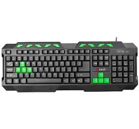 Klávesnice C-Tech GMK-102-G, CZ/SK - černá/zelená - C-Tech